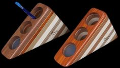 hardwood+creations | ... Pen and Pencil Holder with lacquer finish by Hardwood Creations