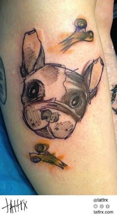 French bulldog tattoo pinterest badgalronnie body art for Anthony french tattoo