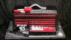 95th Anniversary cake created for Snap On Tools