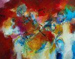 acrylschilderijen Van, Abstract, Painting, Figurines, Summary, Painting Art, Paintings, Vans, Painted Canvas