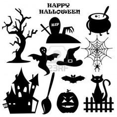 Image detail for -Collection Of Halloween Elements. Royalty Free Cliparts, Vectors, And ...
