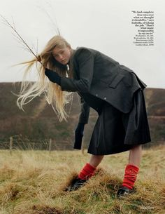 """The Terrier and Lobster: """"Open Season"""": Stella Tennant, Isabella Cawdor, Jean Campbell & Family by Tim Walker for UK Vogue July 2016 Rolling Stones, Holland, Stella Tennant, Dover Street Market, English Country Style, Chor, Tim Walker, Open Field, Punk"""