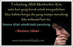 "SHE IS EGIYANTINA: Put Trust in Allah ""The Only helper"""