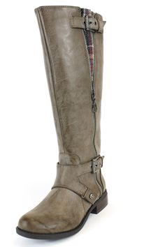 1f3f7247a3c7 G by Guess Hertle2 Dark Gray Boots. Grey Knee High BootsGrey BootsWide Calf  ...
