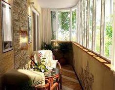 Картинки по запросу ideas para decorar balcones cerrados