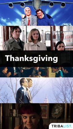 The top Thanksgiving-themed movies ever. For the full list, check out our chart on Tribalist. Top Movies To Watch, Good Movies, Best Thanksgiving Movies, Movie List, Chart, Good Things, Film, Classic, People