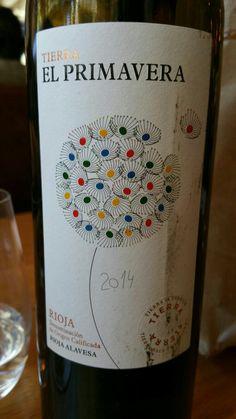 Tierra El Primavera 2014 - DO Ca Rioja - Bodegas Agricola Labastida - Vino tinto joven con crianza envejecido 5 meses en barricas de roble - 100% Tempranillo - 13,5% 89 PEÑIN