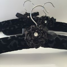 Hey, I found this really awesome Etsy listing at https://www.etsy.com/uk/listing/255814914/padded-hanger-covered-in-black-silk