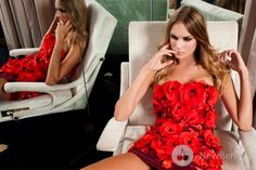 Amen Haute Couture 2013 - pretty poppy dress