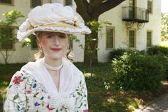 "Mamie Gummer: Period Actress  Mary Willa ""Mamie"" Gummer -- daughter of Meryl Streep and sculptor Don Gummer -- performs during the launch of the Colonial Williamsburg Artist Program in Williamsburg, Va.  2010"