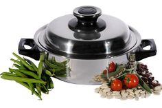 Apenta, der Vakuum Steamer, Swiss Made für gesundes Kochen: Vitamine bleiben erhalten, Aromen entfalten sich optimal. Bis zu 70% Energieersparnis. Topqualität mit lebenslanger Garantie auf alle Pfannen und Töpfe. Für alle Herdarten: Induktion, Glaskeramik und Gasherd.  #dampfgarer#dampfkochtopf#digester#pressurecooker#steamer#gesundkochen#kitchen#pot# kochtopf#rezepte   www.wohn-punkt.ch