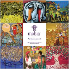 Announcing Mahua's Art Annual 2016. Contemporary art - paintings and sculptures - by talented established and emerging artists in India. Visit the gallery in Sadashivnagar or view the exhibition online.