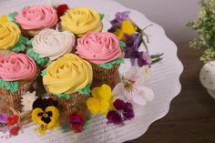 Cupcakes para el Día de las Madres.