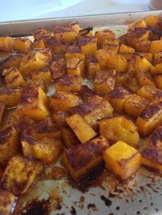 Roasted Butternut Squash- Two Ways! Sweet & Savory vs. Caramelized Cinnamon