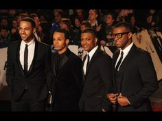 Music group JLS (L-R) Marvin Humes, Aston Merrygold, J.B. Gill and Oritse Williams attend the Royal World Premiere of 'Skyfall' at the Royal Albert Hall on October 23, 2012 in London, England.  Credit: Eamonn McCormack/Getty Images