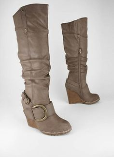 I need to find a pair like these but with less of a heel so I can be all stylish band director-y with out falling on my face!!