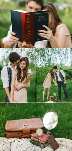 Jane Austen Engagement Session -- AH!!! I love this soooooooooooooooo much <3