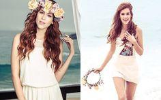 Os melhores looks de 2013 das it girls  Sophia ganhou um premio de melhor capa da ''CAPRICHO'' e com looks bem praia e fresquinhos super tendencia tbm