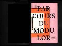 다음 @Behance 프로젝트 확인: \u201cPARCOURS DU MODULOR\u201d https://www.behance.net/gallery/50393587/PARCOURS-DU-MODULOR
