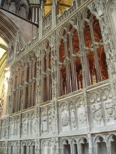 Prince Arthur's Chantry, Worcester Cathedral. Arthur, Prince of Wales, brother of Henry VIII, 1st husband of Catherine of Aragon is buried at Worcester Cathedral