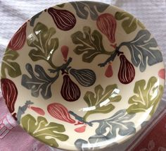 Pink Figs Serving Bowl Raffle Prize for Collectors Day 2015