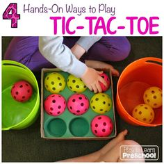 Our older Pre-K students love to play games. They are at just about the right age to learn tic-tac-toe. Much to my dismay, they really, reallystruggled with learning how to play it on paper. In my non-expert opinion, it has a lot to do with the fact that they spend much of their idle time...Read More »