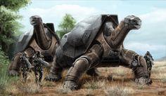 Mech Turtle by Rofelrolf on deviantART