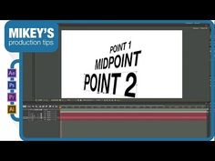 Midpoint free After Effects Preset - YouTube After Effects, Motion Design, Tips, Youtube, Free, Side Effects, Advice, Youtubers, Youtube Movies
