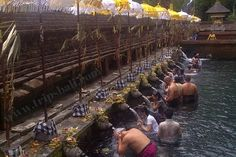 This temple there is a sacred spring, the water is said to cleanse from evil intentions, for their Balinese baths to cleanse themselves of evil lust.