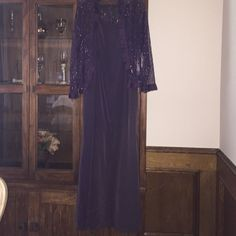 Purple dress... :) Don't know the brand... :( only used a few times... :) Dresses