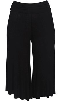 jersey stretch gaucho capris are perfect for Spring and Summer!