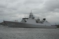Royal Dutch Navy frigate 'Tromp'