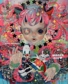 Recycling Humanity: Hikari Shimoda @ Corey Helford Gallery - beautiful.bizarre