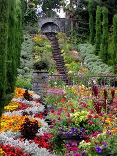 "Mainau Island in Lake Constance, also called ""The Island of Flowers"""