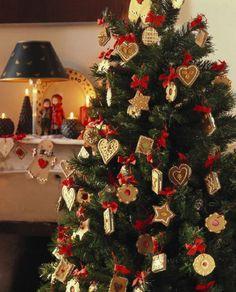 e05cfb547b decoración árbol de navidad 13 Navidad Clásica, Navidad Dorada, Adornos De  Navidad, Decoracion