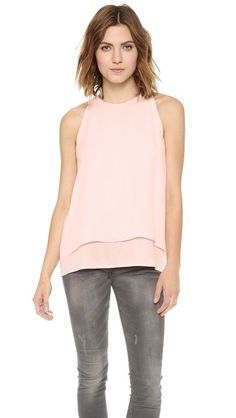 perfect frosty pink blouse
