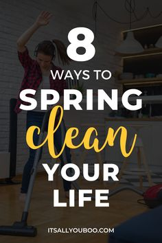 Is your life a serious mess right now? Click here for 8 ways to spring clean your life from your wardrobe and car, to your relationships and your mind. You can declutter, you can sort out everything that's overwhelming your living space. Plus, get your FREE Printable Spring Clean Your Mind Checklist, to help you spring clean your mental health. Business Tips, Online Business, Welcome To The Group, Entrepreneur Inspiration, Work Life Balance, Positive Mindset, Wellness Tips, How To Stay Motivated, Best Self
