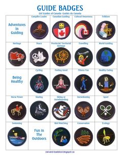 Girl Guide Blog activities for Sparks Brownies Guides Pathfinders Badges  Lapbook crafts crests yardsale hauls meeting plans printables