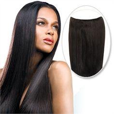 70g Flip In Human Hair #1B Natural Black BVCF001