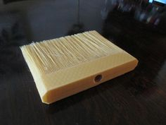 3ders.org - Artist uses complicated 3D printing technique to create entire broom with a 3D printer (including the bristles!) | 3D Printer News & 3D Printing News