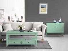 grau ist modern mint grn auch zeit zu streichen wandfarbe - Wohnzimmer Modern Grau Grn