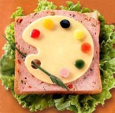Cheese with red,green and yellow peppers