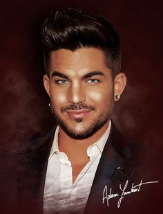 Adam Lambert download : http://nasud.deviantart.com/art/Adam-Lambert-507715426  Wall. tel. download : http://www.zedge.net/wallpaper/10508134/
