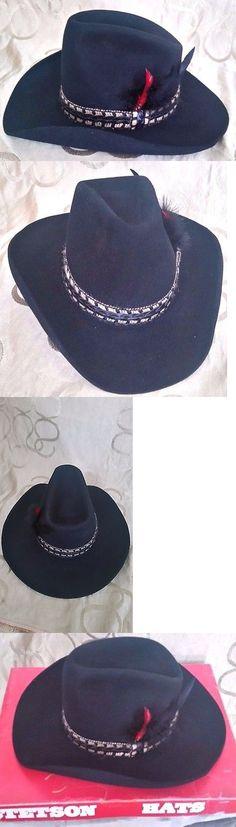 03e597e275c89 Mens Hats 163619  Stetson Hat Unisex Cowboy Hat - 3 X Beaver - Xxx - Size 7  1 8 -  BUY IT NOW ONLY   87.89 on eBay!