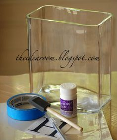 how to: etched glass project