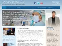Founded in 1995 by Dr. Armstrong, the Southern California Spine Institute (SCSI) offers a multidisciplinary approach to spine care, where the whole patient is looked at, their lifestyle, as well as the specific spine problem. First, the anatomy of the problem is defined and then a comprehensive, conservative approach is emphasized. Through our network of conservative management experts that includes chiropractic physical therapist.