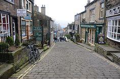 Haworth village