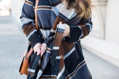 Versatile Plaid Coat
