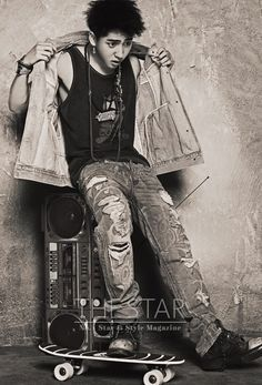 B1A4's Baro // The Star // August 2013