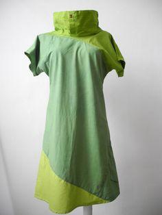 Milch Kleid Miri 100 Hemd Upcycling Tm